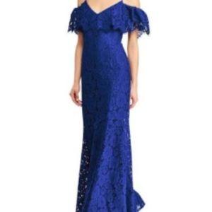 Royal Blue Ralph Lauren Lace Gown